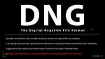 LR/PS - The Advantages of the DNG File Format 
