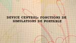 Device Central : les fonctions de simulations de portable