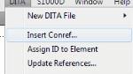 FM 10 DITA 1.2 Conref Range Insert