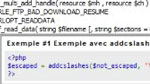 Outils d'aide  l'criture de code