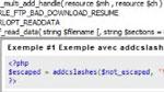 Outils d'aide à l'écriture de code