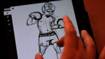 Adobe Ideas v1.01 Easy Speed Sketch of a Boxer