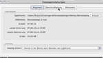 Backup erstellen in Lightroom 3