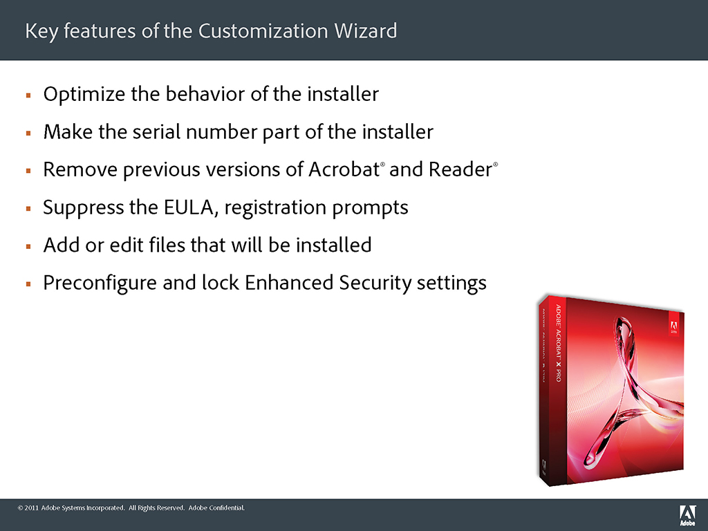Part 1: The Adobe Customization Wizard X Demystified