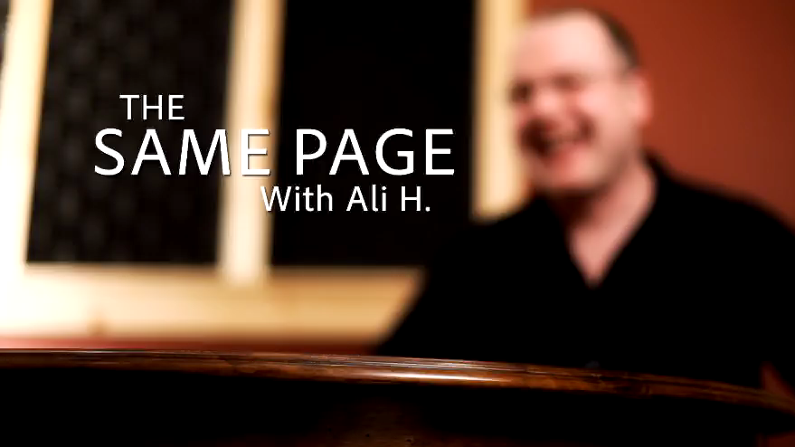 The Same Page with Ali H.  Episode 1