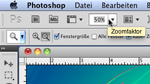 Numerisch exakter Zoom in Photoshop CS5