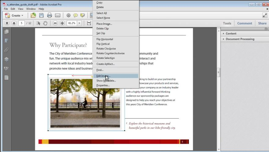 Integrating Photoshop CS5 and Acrobat X