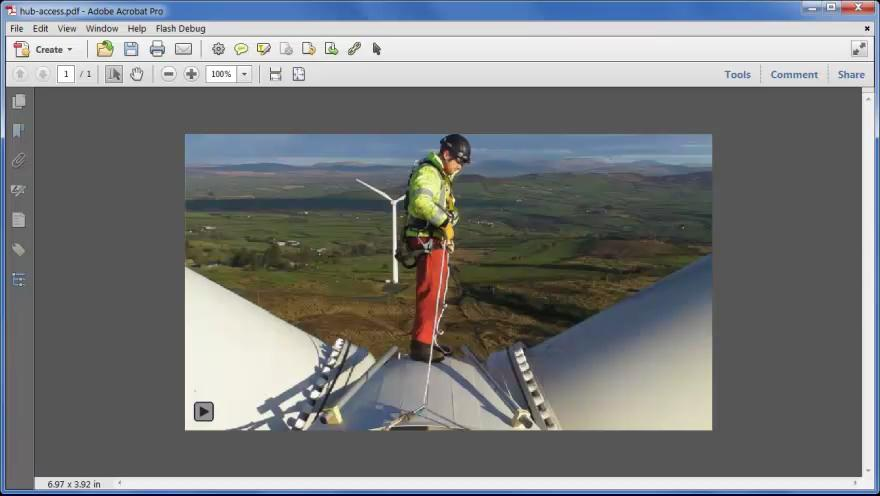 Sharing Video using the Acrobat X Suite