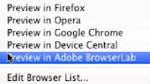 Adobe BrowserLab für schnelleres Testen von Webdesigns