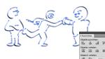 Ausrichten und verteilen in Illustrator CS5