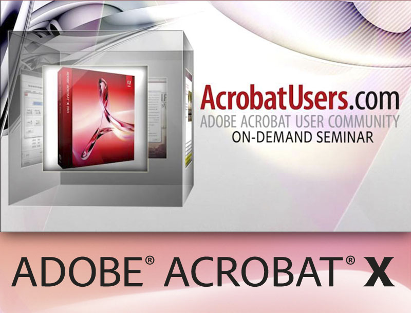 Ensuring your PDF is Accessible in Acrobat X