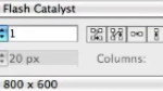 Importation d'illustrations dans Flash Catalyst CS5.5