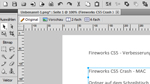 Verbesserte Performance und Stabilitt in Fireworks CS5