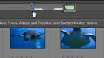 Suchen über die Zeitleiste in Photoshop Elements 9