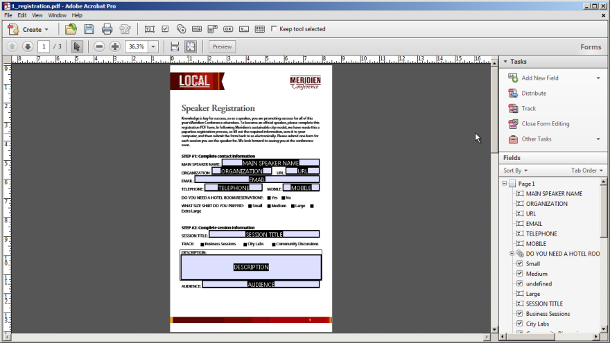 Quick Tip: How to create editable form fields
