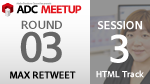 ADC MEETUP ROUND 03 SESSION3 / HTML HTML5