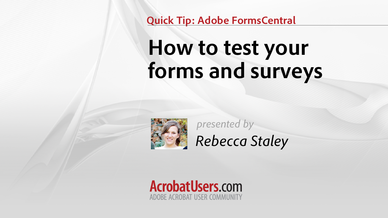 How to preview your form