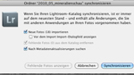 Ordner synchronisieren in Lightroom 3