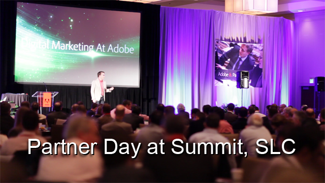 Partner Day Highlights in Salt Lake City - 2012