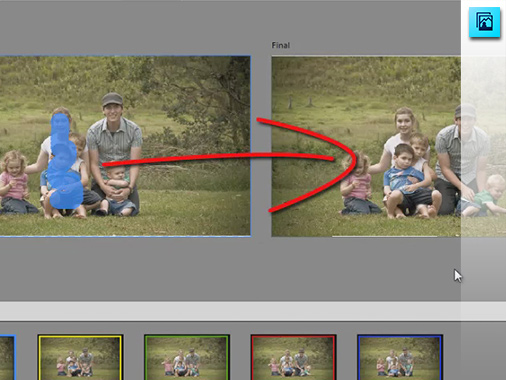 Perfect group shots with Photoshop Elements