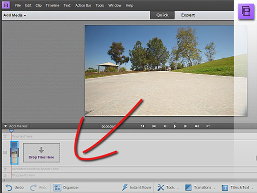 The new Adobe Premiere Elements 11 user interface