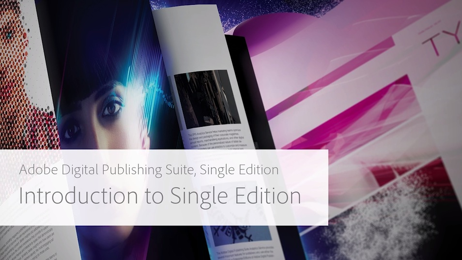 What is Adobe Digital Publishing Suite, Single Edition?