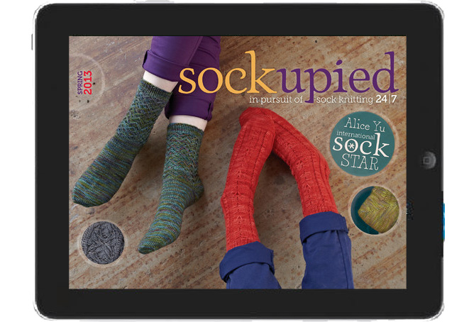 App of the Week: Sockupied by Interweave
