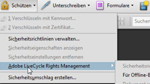 Rechteverwaltung in Acrobat 
