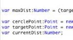 Nouveautés dans le panneau Fragment de code