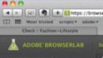 BrowserLab Live Online Service CS5 - Prévisualiser ses conceptions web