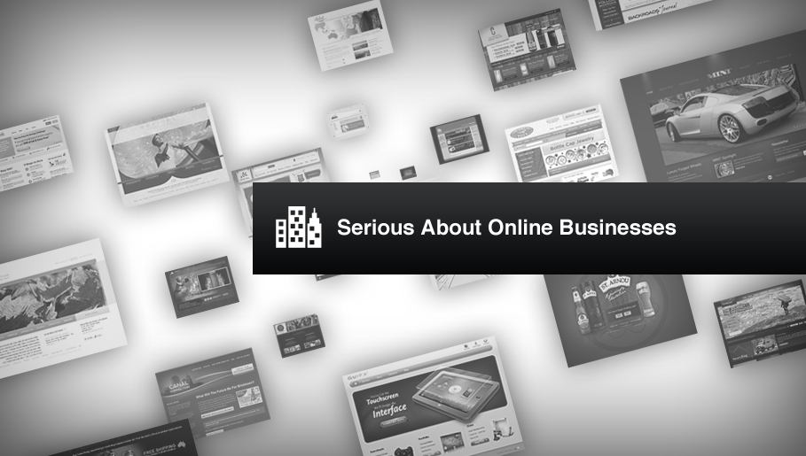 Serious About Online Businesses