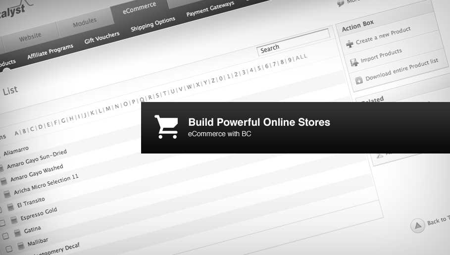 Build Amazing Online Stores