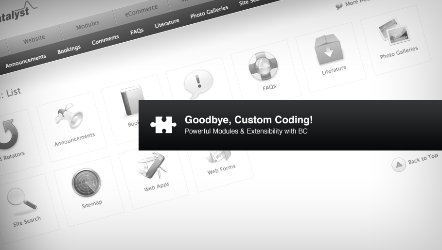 Goodbye, Custom Coding!