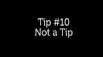 Not a Tip