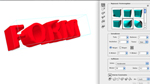 Erstellen einer Form über Repoussé in Photoshop CS5