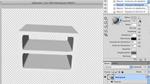 Gestaltung eines Regals in Photoshop CS5