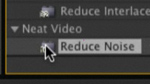 Video Noise Reduction (Plug-Ins in After Effects CS4)