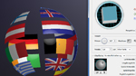 3D-Beispiel – Globus in Illustrator CS5