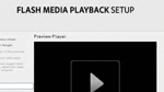 Greg Hamer gives an overview of Flash Media Playback