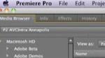 Premiere Pro's 4.2 update and Native P2 AVC-Intra Editing