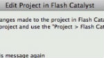 先期碟报:新的Flash Builder和Flash Catalyst双导向工作流
