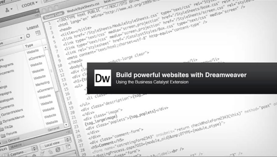 Build Powerful Websites in Dreamweaver CS5