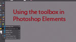 Using the toolbox in Photoshop Elements