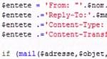 Envoyer un e-mail dans Dreamweaver CS4