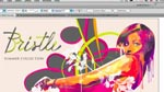 The Bristle Brush in Illustrator CS5
