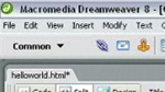 Writing JavaScript Code in Adobe Dreamweaver