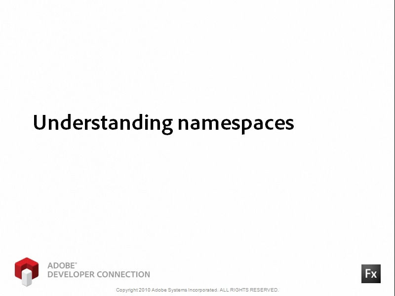 Understanding Namespaces