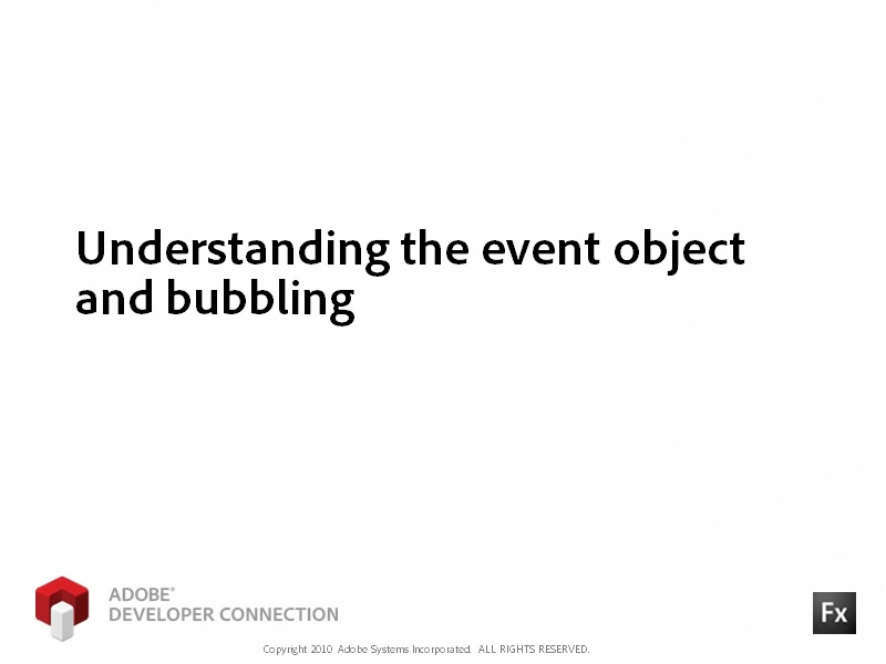 Understanding the Event Object and Bubbling