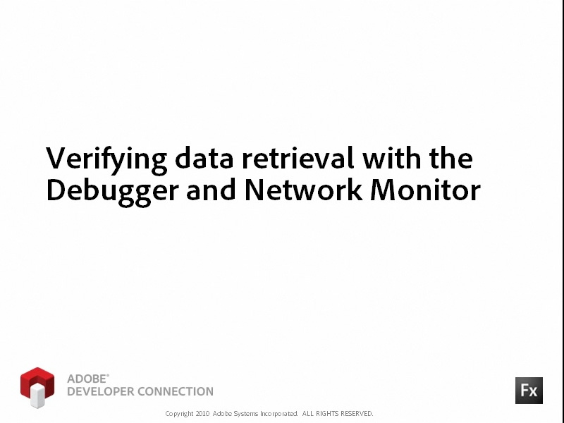 Verifying Data Retrieval with Network Monitor