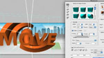 Easy 3D Extrusions in Photoshop CS5